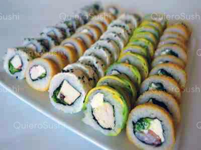 50 piezas de sushi en Mia Sushi, Santiago Centro