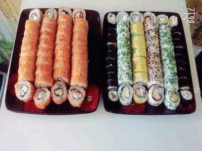 100 piezas de sushi en Sushi Hai Maipu, Maipu