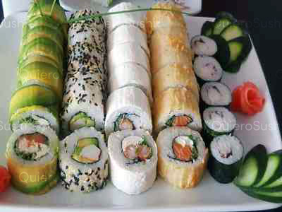 50 piezas de sushi en Sushi Khai, La Reina