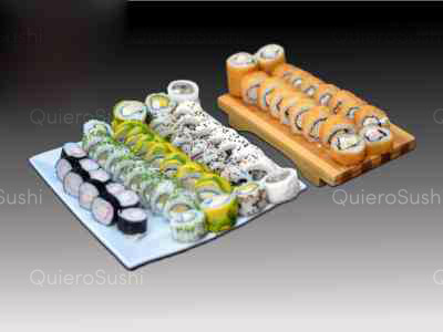 70 piezas de sushi en Mary's Sushi la florida, La Florida