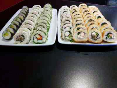 70 piezas de sushi en Sushi Khai, La Reina