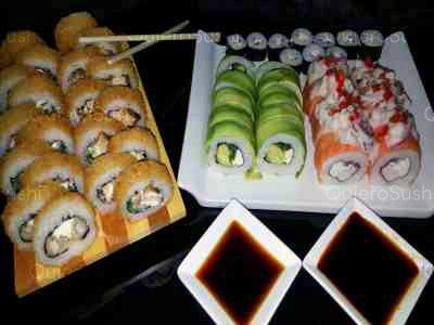 50 piezas de sushi en Guarosushi, Santiago Centro
