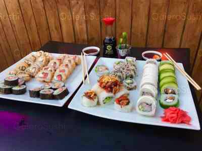 70 piezas de sushi en Maldito Sushi Thai, Las Condes