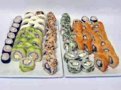 70 piezas de sushi en Nori Sushi, Ñuñoa