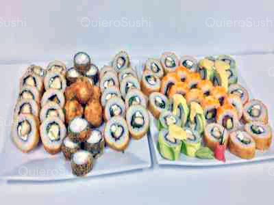 65 piezas de sushi en Murano Sushi , Ñuñoa