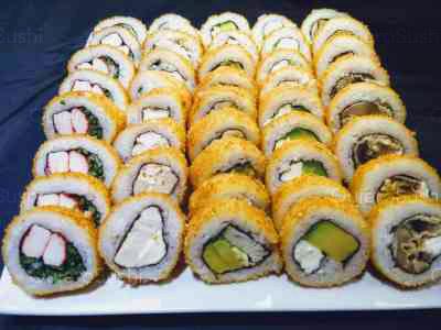 50 piezas de sushi en Mary's Sushi la florida, La Florida
