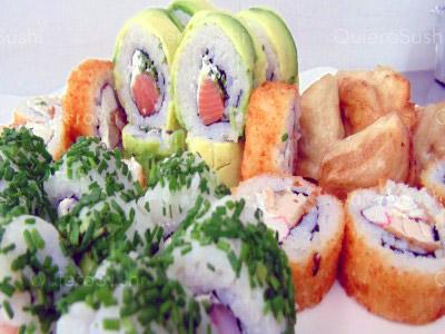 35 piezas de sushi en Sushi Bubba Gump, Ñuñoa
