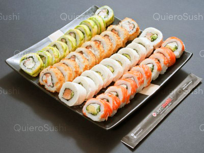 40 piezas de sushi en Hi No Hana Sushi, La Florida