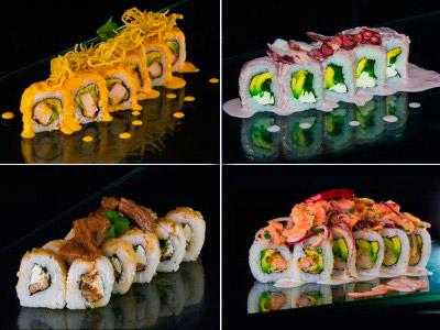 40 piezas de sushi en Sushi Ya, Ñuñoa