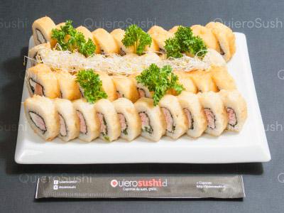 40 piezas de sushi en Yamato Sushi, Providencia