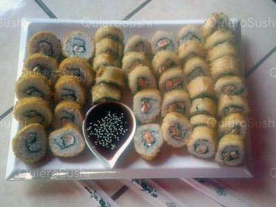 40 piezas de sushi en Onomichi Nikkei, Ñuñoa