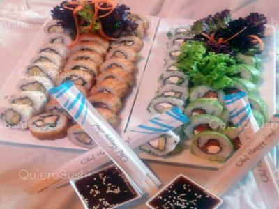 50 piezas de sushi en Sakebysushi, La Florida