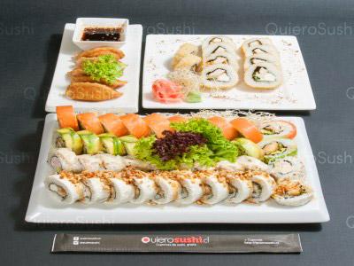 55 piezas de sushi en Yamato, Peñalolen