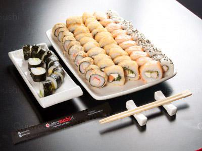 60 piezas de sushi en Sushi Khai, La Reina