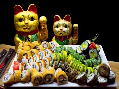 70 piezas de sushi en Keru sushi, Santiago Centro