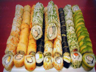 100 piezas de sushi en Onomichi Nikkei, Santiago Centro