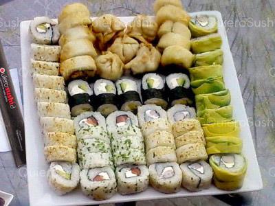 65 piezas de sushi en Onomichi Nikkei, Ñuñoa