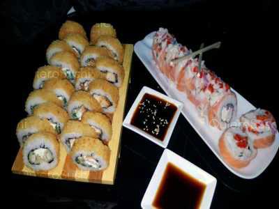 30 piezas de sushi en Guarosushi, Santiago Centro