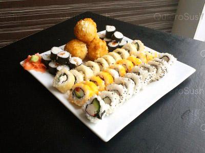 50 piezas de sushi en Neo Sushi, Ñuñoa
