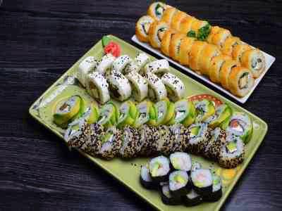 60 piezas de sushi en Eco Sushi, Las Condes