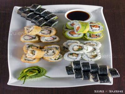 60 piezas de sushi en SIAI Sushi , Pudahuel
