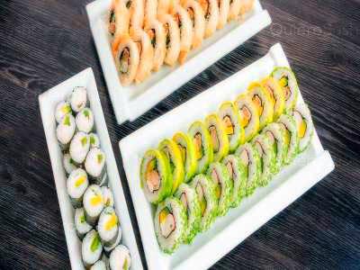 60 piezas de sushi en Hi! Sushi, Santiago Centro