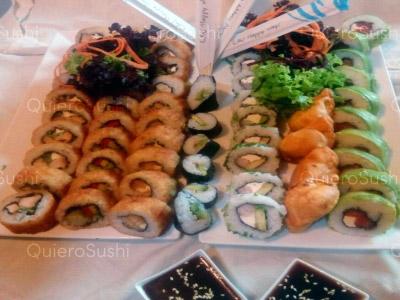 60 piezas de sushi en Sakebysushi, La Florida