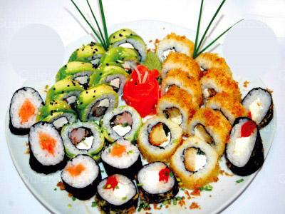 60 piezas de sushi en King Roll, Peñalolen