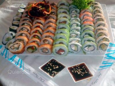 80 piezas de sushi en Sakebysushi, La Florida