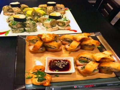 95 piezas de sushi en Now Sushi, La Florida