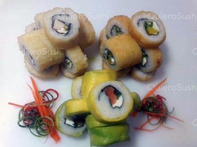33 piezas de sushi en Sushi Rolls Liam, Providencia
