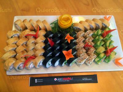 70 piezas de sushi en SushiMixx, Maipú