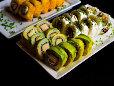 30 piezas de sushi en Hi! Sushi, Santiago Centro