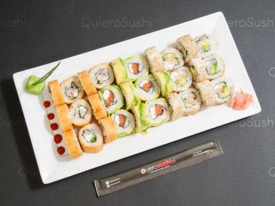 30 piezas de sushi en Yamato Sushi, Providencia