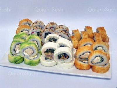 50 piezas de sushi en Nori Sushi La Florida, La Florida