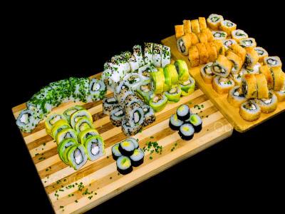 100 piezas de sushi en Hi! Sushi, Santiago Centro