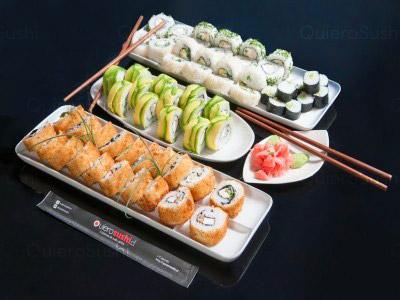 70 piezas de sushi en Katakana Sushi, La Florida