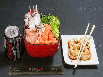 6 piezas de sushi en Maldito Sushi Centenario, Las Condes