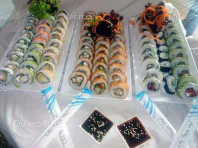 90 piezas de sushi en Sakebysushi, La Florida