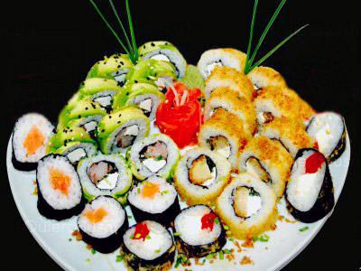 70 piezas de sushi en King Roll. De 18:00 a 23:00, Peñalolen
