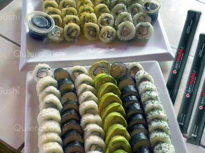 90 piezas de sushi en Onomichi Nikkei, Ñuñoa