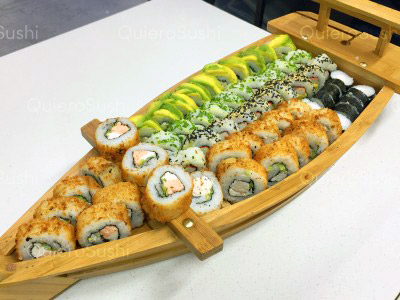 60 piezas de sushi en Fusion Sushi, Macul