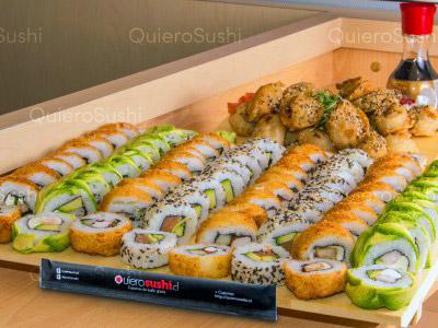 100 piezas de sushi en Sushi Ya, Ñuñoa