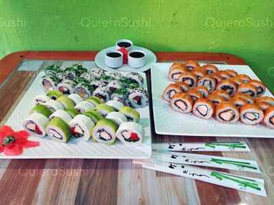 70 piezas de sushi en Seiko Sushi, Santiago Centro