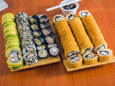 70 piezas de sushi en Caribean Sushi, Santiago Centro