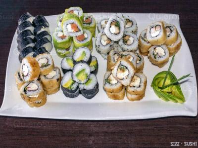 70 piezas de sushi en SIAI Sushi , Pudahuel