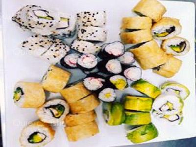 70 piezas de sushi en Neo Sushi, Ñuñoa