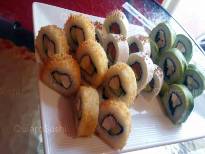 30 piezas de sushi en Japón Express Sushi, La Florida