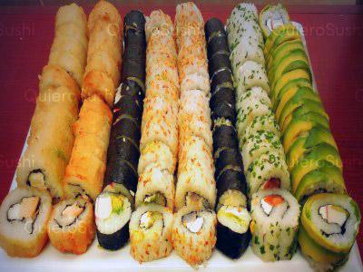 80 piezas de sushi en Onomichi Nikkei, Santiago Centro
