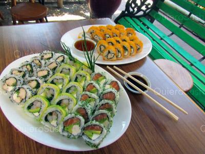 60 piezas de sushi en HouseSandwich, Las Condes